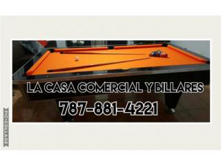 BILLARES COMERCIAL Y RESIDENCIAL, LA CASA COMERCIAL Y BILLARES Puerto Rico
