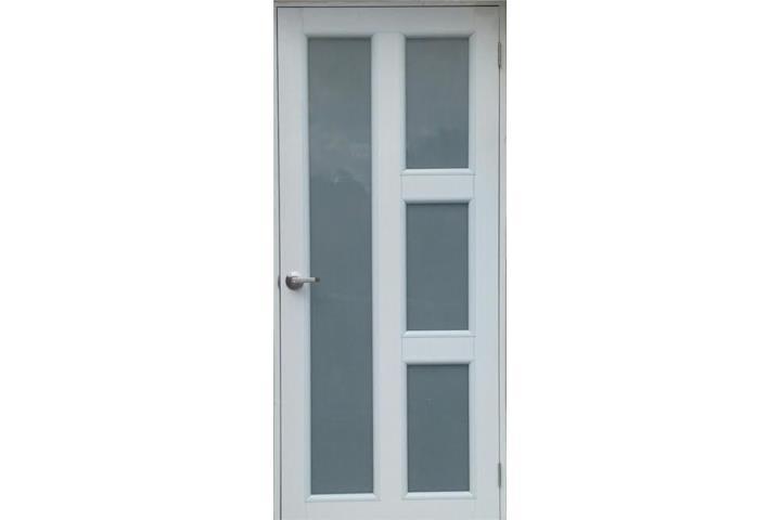 Gran venta puerta aluminio blanco mod eco 19 puerto rico for Puertas y ventanas de aluminio blanco precios