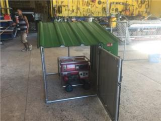 Casetas para  PLANTAS Electricas, variedad, Pepino Canopy's Puerto Rico