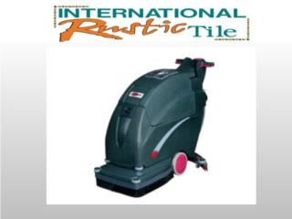 20 Traction-Drive Automatic Scrubber, IMAGE FLOORS INC. Puerto Rico