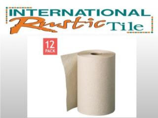 PAPEL SECANTE NATURAL ROLL TOWEL (12 ROLLOS), IMAGE FLOORS INC. Puerto Rico