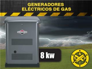 Prepárate con Plantas Eléctricas de Gas (8Kw), Steel and Pipes Puerto Rico