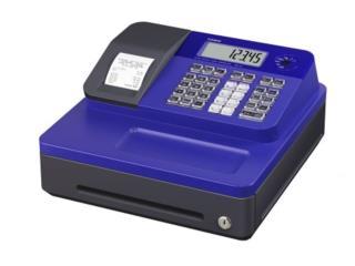 Casio SE-G1SC-BU Electronic Cash Register, WSB Supplies Puerto Rico