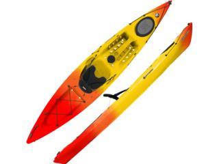 Triumph 13 Para la Aventura con Mucho Espacio, Aqua Sports Kayaks Distributors Puerto Rico 1991 Puerto Rico