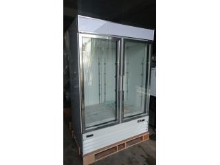 Nevera 2 puertas de cristal, Promas, Inc Puerto Rico
