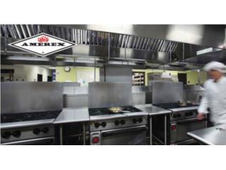 Sistema de Supresion Cocinas Comerciales, CEL Fire Extinguishers & More Puerto Rico