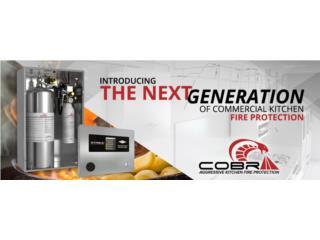 NUEVO! Sistema de Supresión AMEREX COBRA , CEL Fire Extinguishers & More Puerto Rico