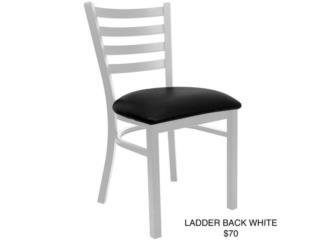 Silla Ladder back color Blanco, PR SEATING Puerto Rico