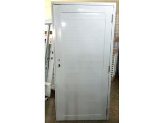 Puerta Aluminio Regular Sólida 36x84, MG Inter / Space Designs Puerto Rico