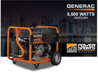¡GENERAC 6875W! 120/240V, POWER SPORT WAREHOUSE Puerto Rico