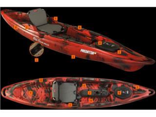 !!Predator 13 Maquina de Pesca Super Comoda!!, Aqua Sports Kayaks Distributors Puerto Rico 1991 Puerto Rico