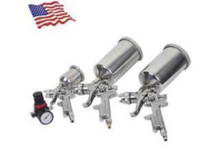 Pistola de Pintar Por Presion USA, Vulcan Tools Caibbean Inc. Puerto Rico