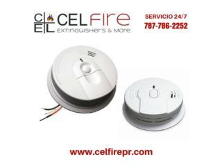 Detectores de Humo (Smoke Detectors), CEL Fire Extinguishers & More Puerto Rico