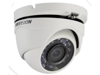 Cámaras Hikvision Turbo Dome HD 1080 2MP, Alarm Experts Dealer #1 de ADT en P.R. Puerto Rico