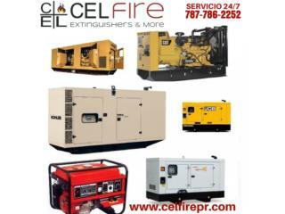 Generadores Electricos (VARIEDAD), CEL Fire Extinguishers & More Puerto Rico