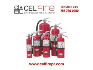 CERTIFICACION DE EXTINTORES, CEL Fire Extinguishers & More Puerto Rico