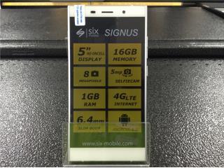 Celular Six mobile modelo Signus, La Familia Casa de Empeño y Joyería-Aguadilla Puerto Rico