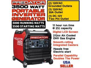 Predator Inverter 3500watts , Carlito's Air Conditioning Puerto Rico