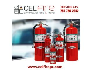 AMEREX Fire Extinguisher, Halotron, 11 lb, CEL Fire Extinguishers & More Puerto Rico