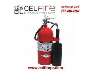 AMEREX Fire Extinguisher, CO2, 10lbs, CEL Fire Extinguishers & More Puerto Rico
