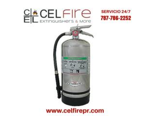 AMEREX Fire Extinguisher, Wet Chemical, CEL Fire Extinguishers & More Puerto Rico