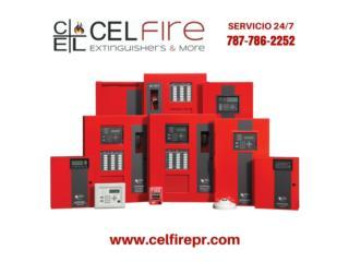 ALARMAS DE FUEGO CERTIFICADAS, CEL Fire Extinguishers & More Puerto Rico