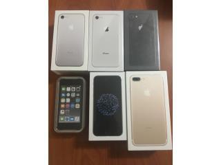 IPHONE X iphone 8 y  7 PLUS 7 y 6, W-I Celulares & Best Cover PR Puerto Rico