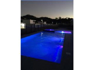 Pool & Spa 17'x40' sundeck, GO POOL & SPA Puerto Rico