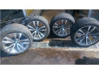 Aros 20 con gomas BMW X5, Quality Sales PR Puerto Rico