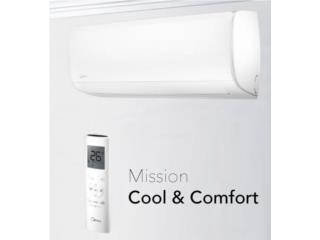 Midea all easy 19 seer, Carlito's Air Conditioning Puerto Rico