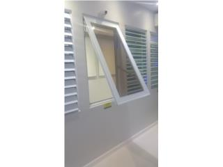 Ventana Proyected Heavy Duty Seguridad 30x 48, MG Inter / Space Designs Puerto Rico