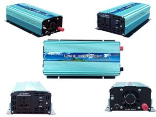 Power Inverter 2400W Peak - 1200W, Sigma Distributors PR Puerto Rico