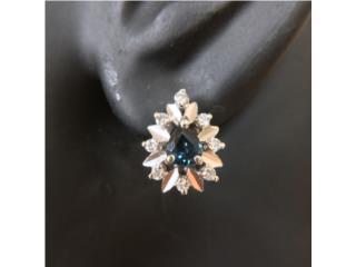 Pantallas de Diamantes y Zafiro en Oro 14kt , Cashex Puerto Rico