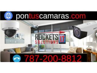 ¿Te sientes inseguro? pontuscamaras.com, Rockets I.T Solutions Puerto Rico