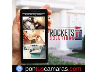 ¿Buscas Seguridad? , Rockets I.T Solutions Puerto Rico