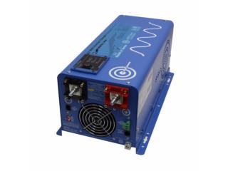 Pure Sine Inverter Charger 3,000W 12V  , FIRST TECH SOLAR Puerto Rico