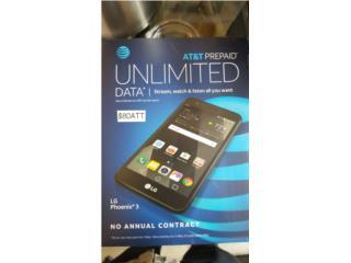 LG Phoenix 3 ATT , Prepaid Mobile Puerto Rico