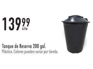 TANQUE DE RESERVA 200 GAL, Ferreteria Ace Berrios Puerto Rico