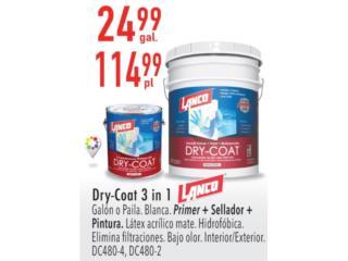 LANCO DRY-COAT 3 IN 1, Ferreteria Ace Berrios Puerto Rico