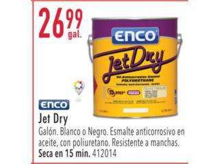 ENCO JET DRY, Ferreteria Ace Berrios Puerto Rico