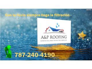 PORQUE UTILIZAR OTRO ESCOGE FIBERGLASS, A&P ROOFING Puerto Rico
