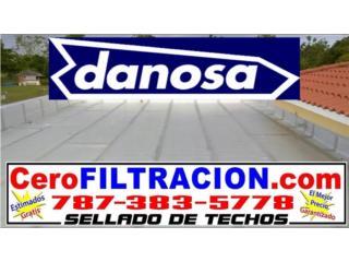 Filtraciones en el techo, llame 787-383-5778, RPM Corp Puerto Rico