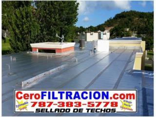 Goteras??? Llame a Cero Filtración, RPM Corp Puerto Rico