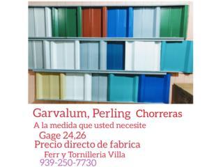 GALVALUM MILL FINISH Y DE COLORES G-24, G-26, Quality Solar System 787-517-0663  Puerto Rico
