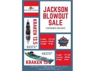 Jackson Kraken Blowout, The SUP shack  Puerto Rico