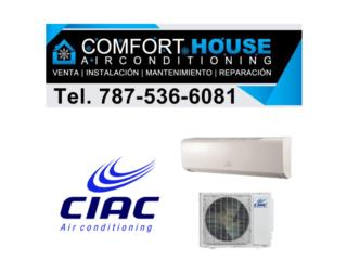 Ciac by Carrier 12k Protector voltaje Gratis, Comfort House Air Conditioning Puerto Rico