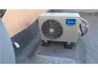 Midea inverter up to 42 seer, Carlito's Air Conditioning Puerto Rico