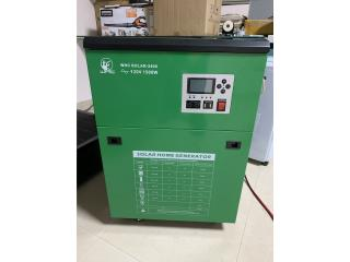 Solar Home Generator/ Inverter (Todo en Uno) , TurboShake Puerto Rico