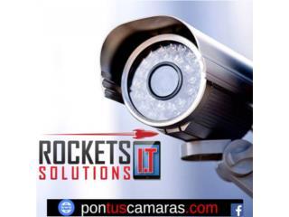 Camaras de Seguridad - Kits, Rockets I.T Solutions Puerto Rico
