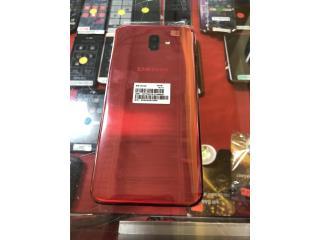 Samsung J-6 plus Rojo, Prepaid Mobile Puerto Rico